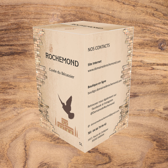 Bag in Box 5L Rochemond CDR Rouge